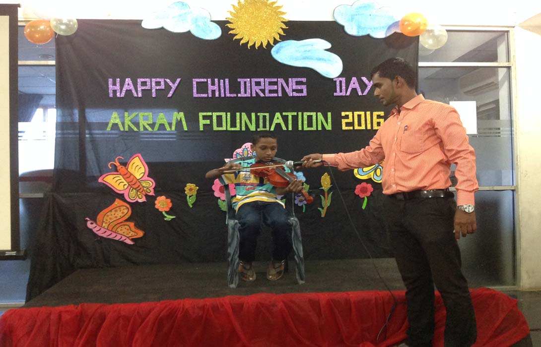 "AKRAM FOUNDATION proudly announced we have started 2 Children Units as our new Venture under the name of ""Ekamuthu Lama Samajaya"" and ""Junior Youth"" on 6th August 2016 at Akram Foundation Hall"