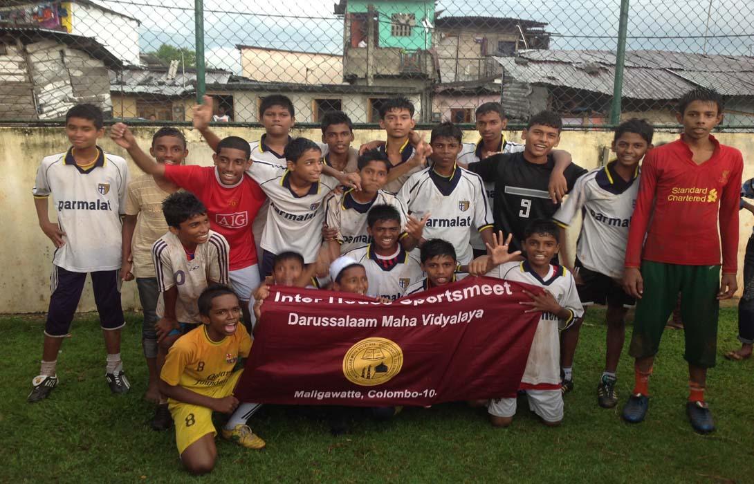 Maligawatta Football tournament 2013