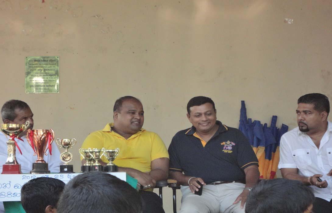 Mahabodhi MV as a OBA President at Marathon  2012