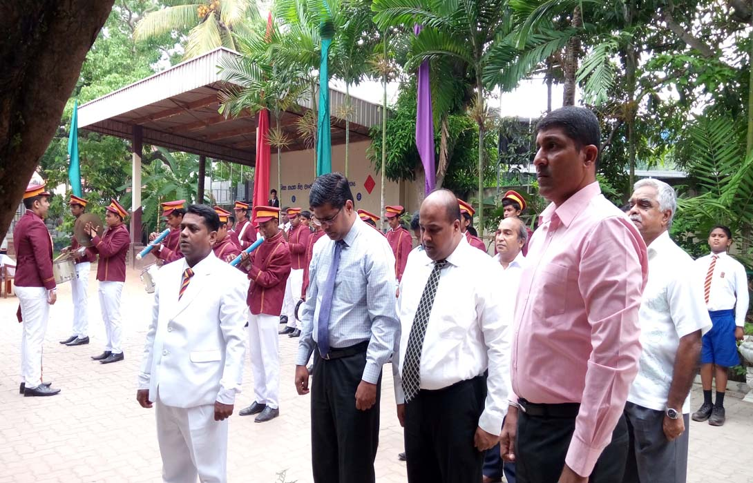 Prefects Appointment Ceremony for 2017 at Mahabodhi College held on 30th November 2016